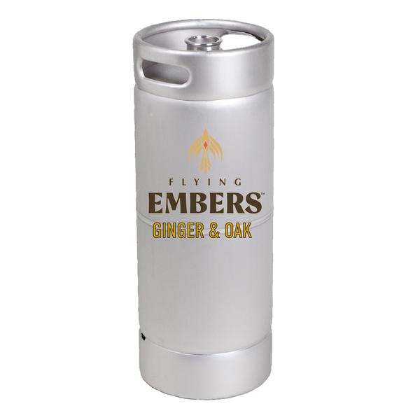 Flying Embers Ginger & Oak (5.5 GAL KEG)