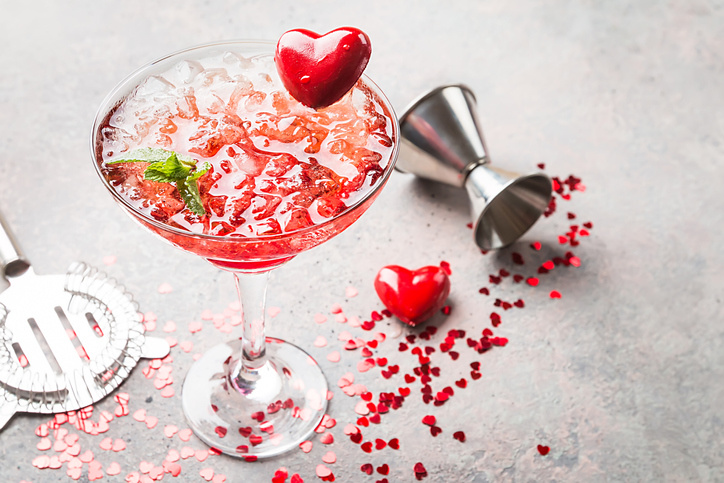 5 Drinks to Make This Valentine's Day