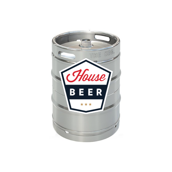 House Beer House Beer Premium Crafted Lager (15.5 GAL KEG)