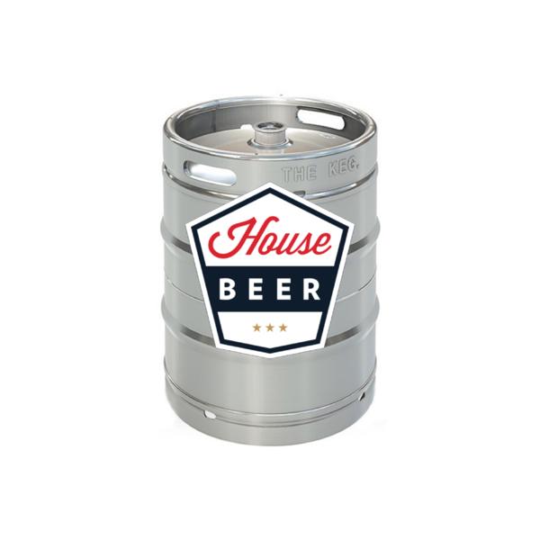 House Beer Premium Crafted Lager (15.5 GAL KEG)