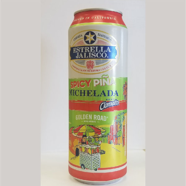 Estrella Jalisco Spicy Pina Michelada (24OZ CAN)
