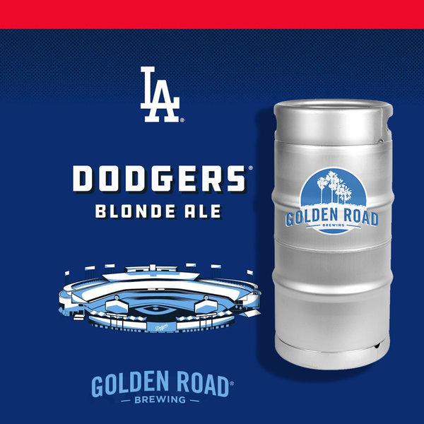Golden Road Golden Road Dodgers Blonde Ale (5.5gal Keg)