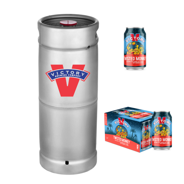 Victory Brewing Victory Brewing Twisted Monkey With Mango (5.5 GAL. KEG)