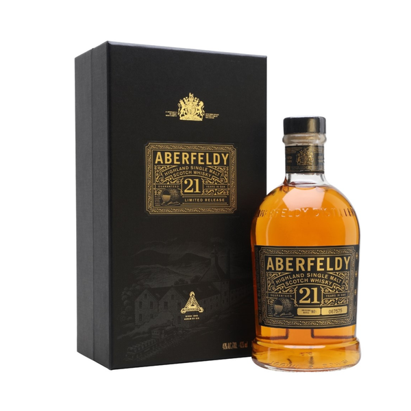 Aberfeldy Highland Single Malt Scotch Whiskey 21 Years (750ml)