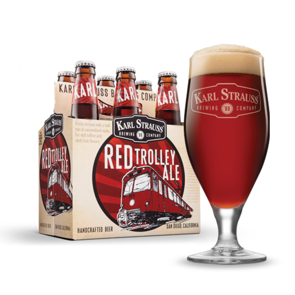 Karl Strauss Karl Strauss Red Trolley Ale (6PK/12OZ BTL)