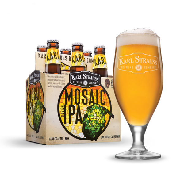 Karl Strauss Karl Strauss Mosaic Session IPA (6PK/120Z BTL)