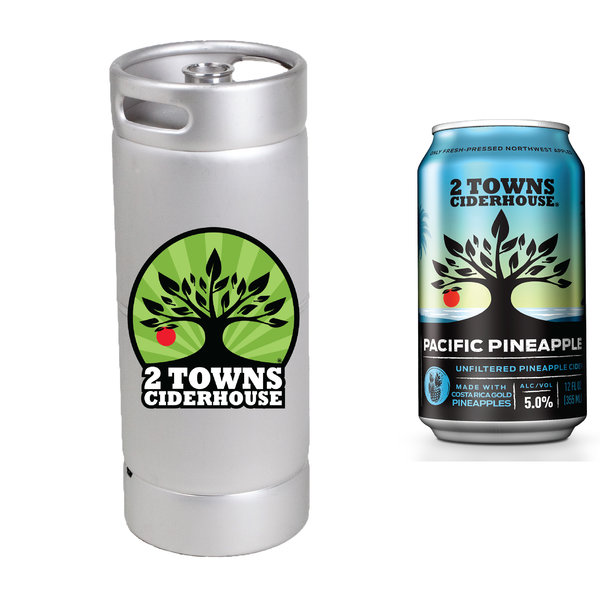 2 Towns Ciderhouse 2 Towns Ciderhouse Pacific Pineapple (5.5GAL KEG)