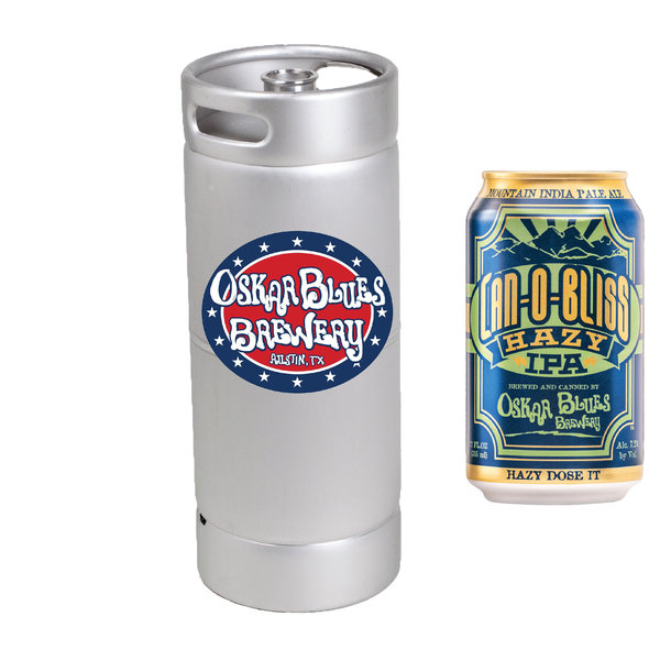 Oskar Blues Brewing Oskar Blues Brewery Can-O-Bliss Hazy IPA (5.5 GAL KEG)