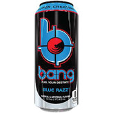Bang Blue Razz Energy Drink (16OZ CAN)