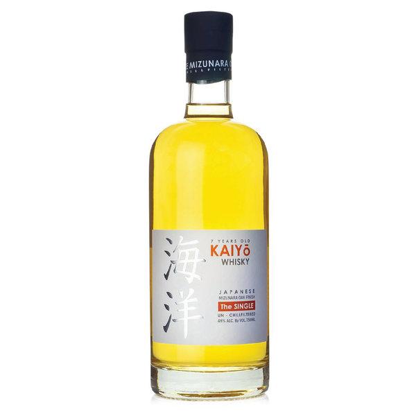 Kaiyo Whiskey  Japanese Mizunara Oak The Single (750ML)