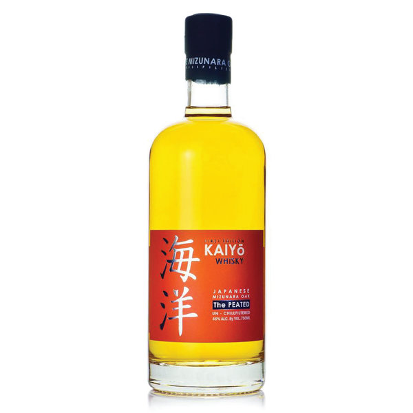 Kaiyo First Edition Whiskey Japanese Mizunara The Peated