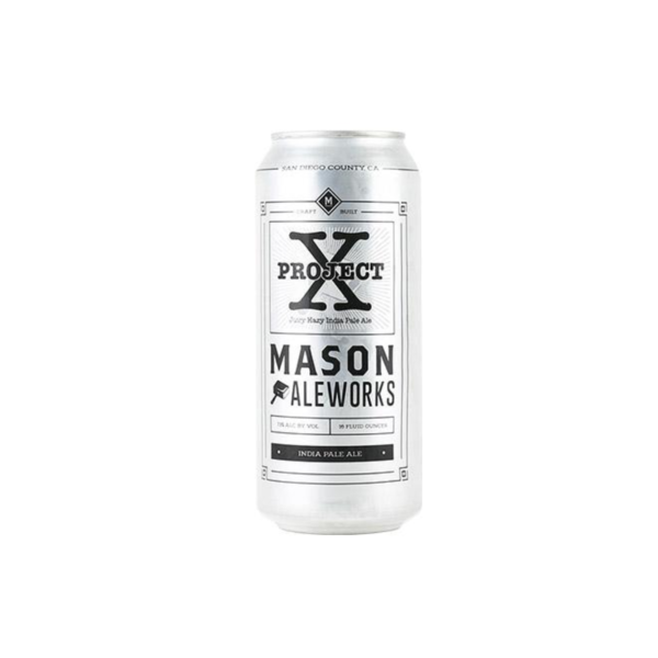 Mason Ale Works Project X Juicy Hazy IPA (16oz CAN)