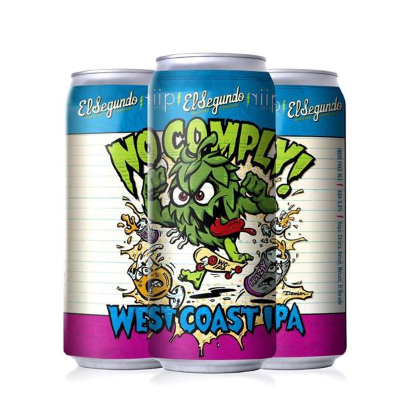 EL SEGUNDO El Segundo No Comply West Coast IPA (16OZ CAN)