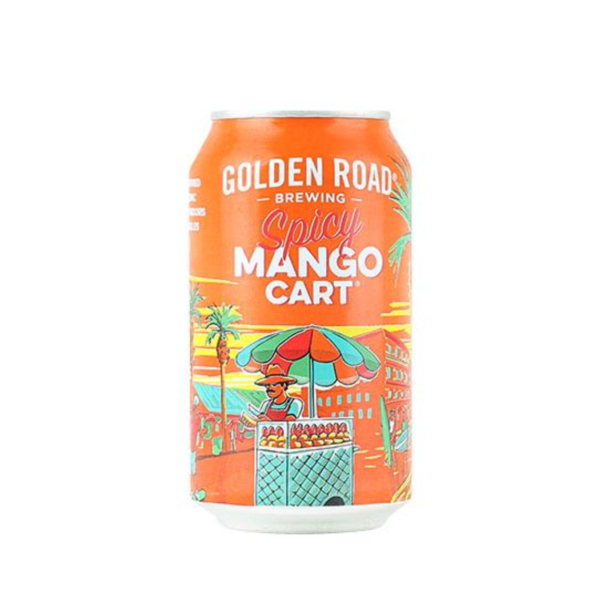 Golden Road Golden Road Tart Spicy  Mango Cart Mango Wheat Ale (6PK/12OZ CAN)