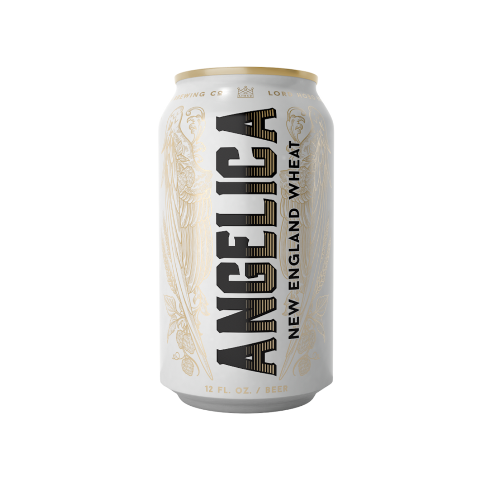 Lord Hobo Brewing Co  Angelica Hazy IPA (16OZ/4PK CANS)