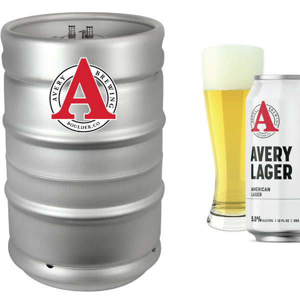 Avery Brewery Avery Lager (15.5 GAL KEG)