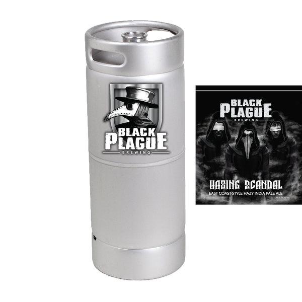 Black Plague Brewing Hazy Scandal IPA (5.5 GAL KEG)