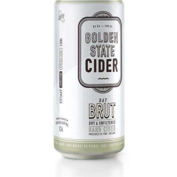 Golden State Golden State Cider Bay Brut Cider (16oz )