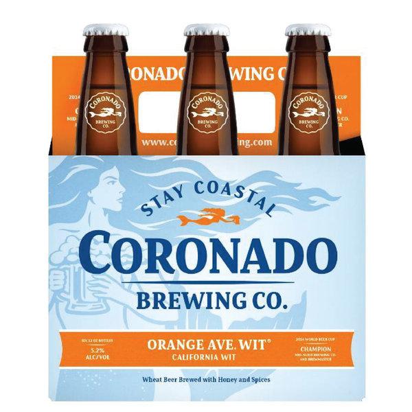 Coronado Brewing Coronado Brewing Orange Ave. Wit (12OZ/6PK BTL)