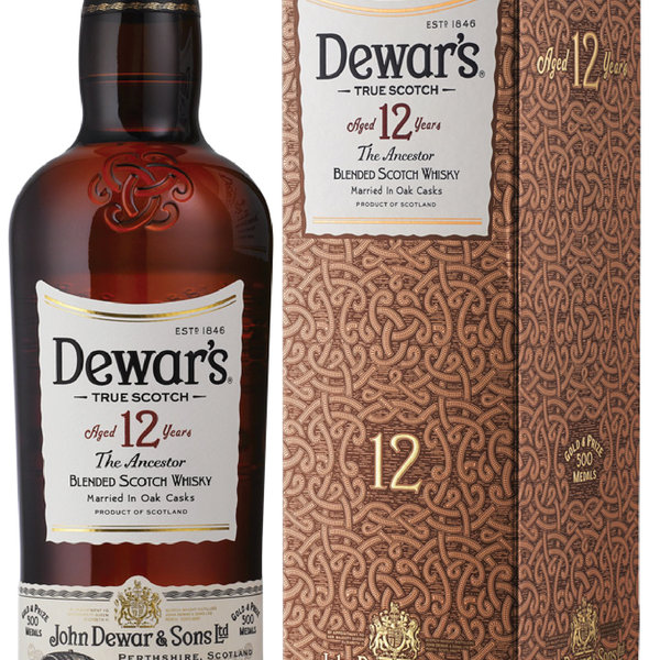 Dewars Blended Scotch Whisky Aged 12 Years (750ml)