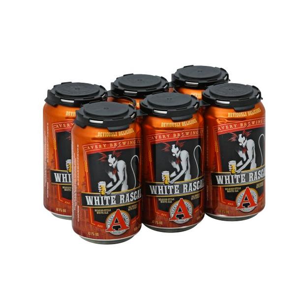 Avery Brewery Avery Brewery White Rascal (6PK/12OZ CAN)