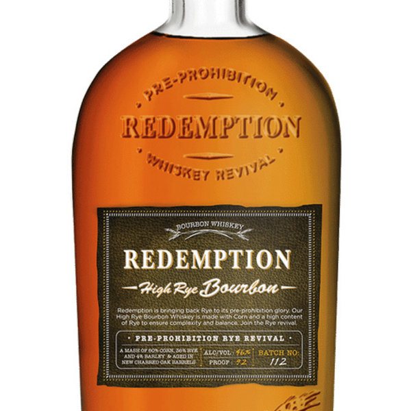 Redemption Redemption High Rye Bourbon (750ML)