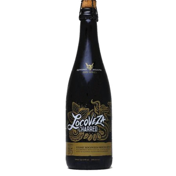 Stone Brewing Co. Locoveza Charred Sour Xocoveza Mocha Stout aged in Bourbon Barrels (500ML BTL)