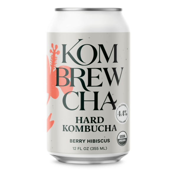 Kombrewcha Hard Kombucha Berry Hibiscus (12oz/6pk CAN)