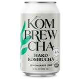 Kombrewcha Hard Kombucha Lemongrass Lime  (12oz/6pk CAN)