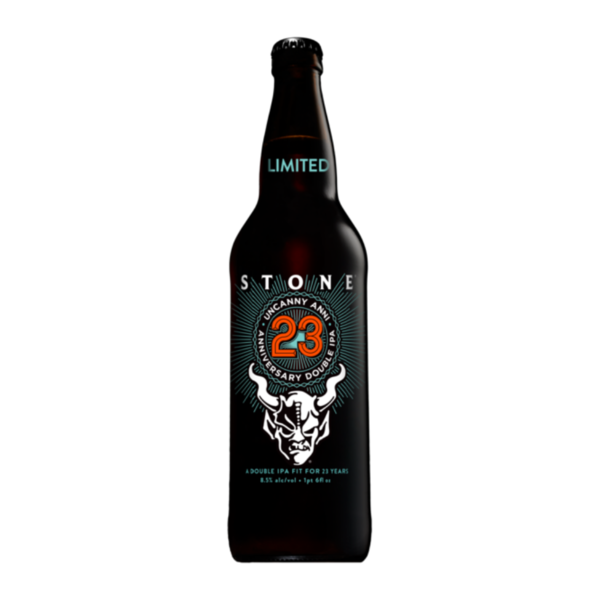 Stone Brewing Co. Stone 23rd Anniversary Uncanny Anni Double IPA(22oz BTL)