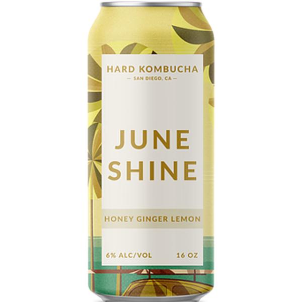 Juneshine Honey Ginger 16oz Can