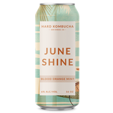 Juneshine Blood Orange Mint 16oz Can