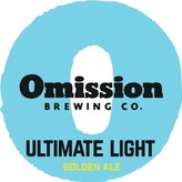 Omission Brewing Co. Ultimate LIght Golden Ale(12OZ/12PK CAN)