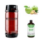 Better Booch Premium Kombucha Tea Ginger Boost (5.5GAL KEG)