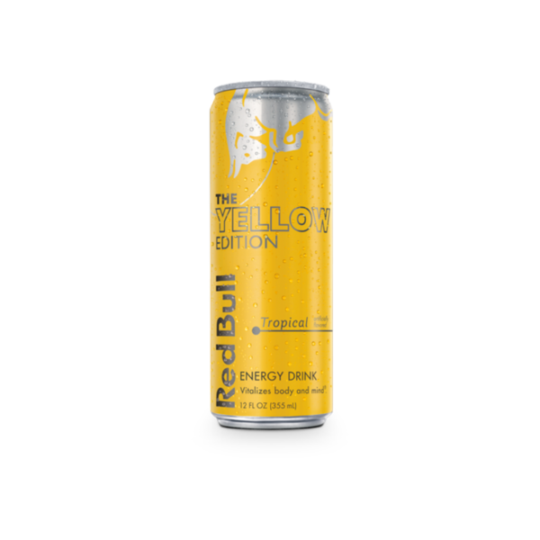 Red Bull Tropical Yellow (12OZ CAN)