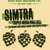 Knee Deep Knee Deep Simtra Triple India Pale Ale (1Pint BTL)