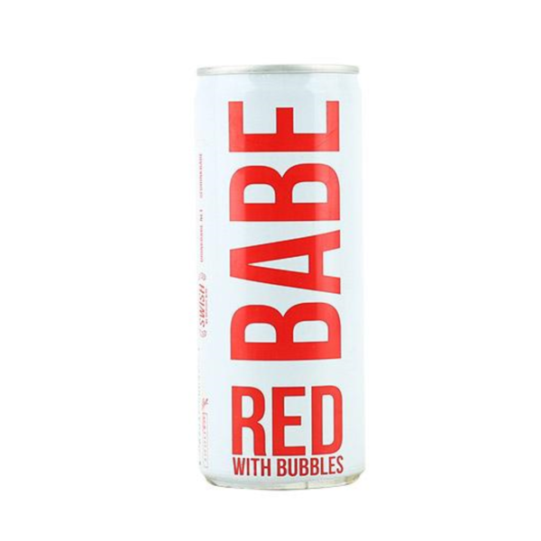 Babe Babe Red With Bubbles (250ml)