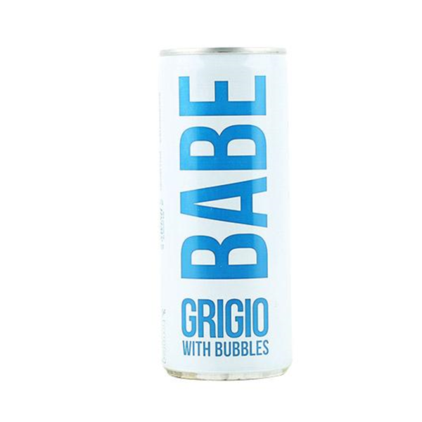 Babe Babe Grigio with Bubbles can (250ml)