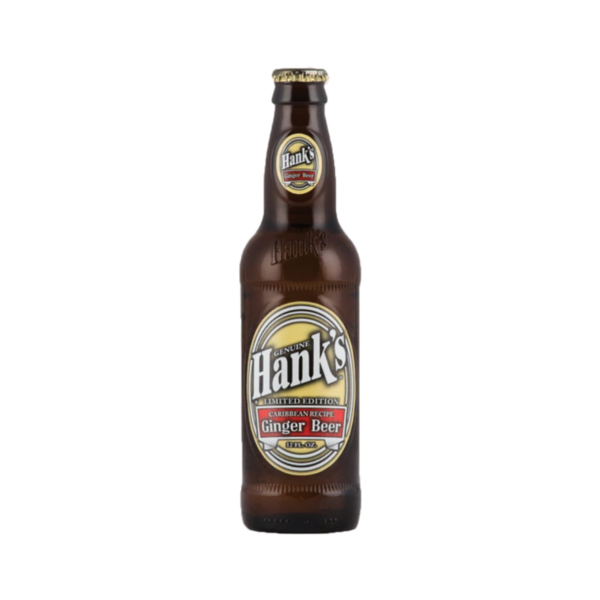 Hank's Limited Edition Caribbean Recipe Ginger Beer (12OZ)