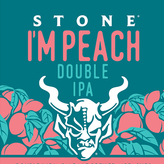 Stone Brewing Co. Stone I'm Peach Double IPA (22OZ BTL)