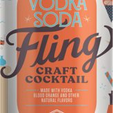 Boulevard Brewing Fling Blood Orange Vodka Soda (4pkc/12oz)
