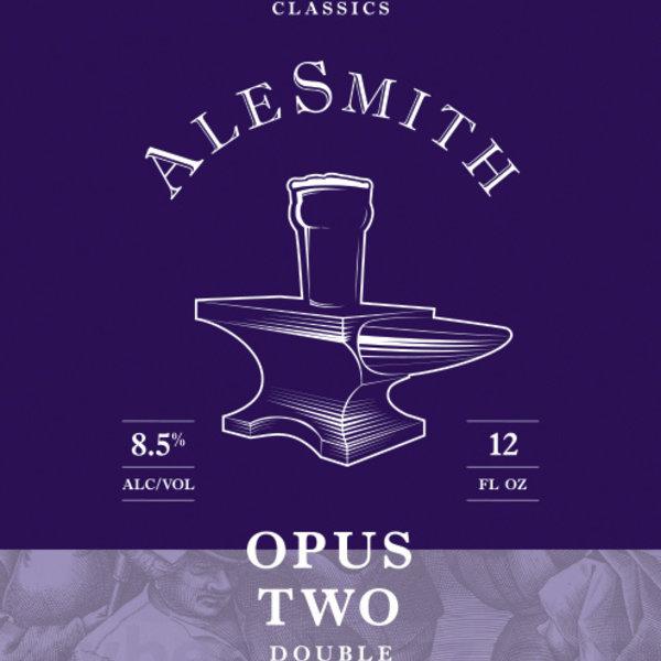 AleSmith AleSmith Opus Two Double IPA (12OZ/6PK CAN)