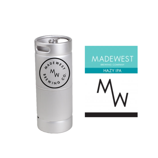 Madewest Madewest Hazy IPA (5.5gal Keg)