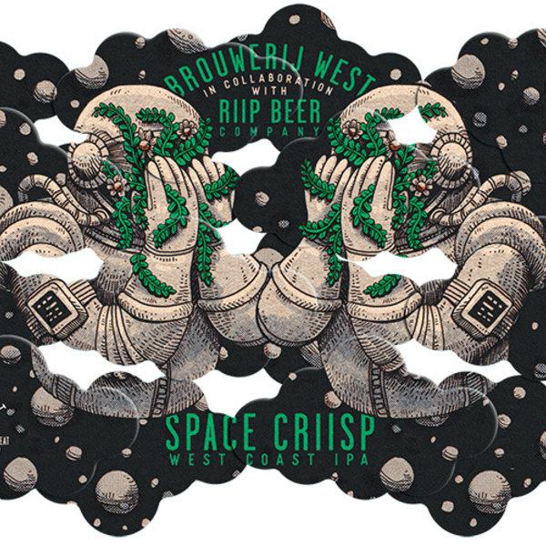 Brouwerij West Space Criisp IPA (16OZ)