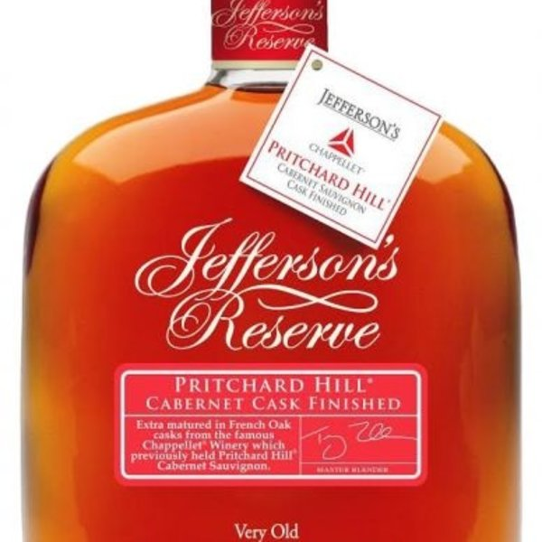 Jefferson's Jeffersons Reserve Pritchard Hill Cabernet Cask Finish (750ml)