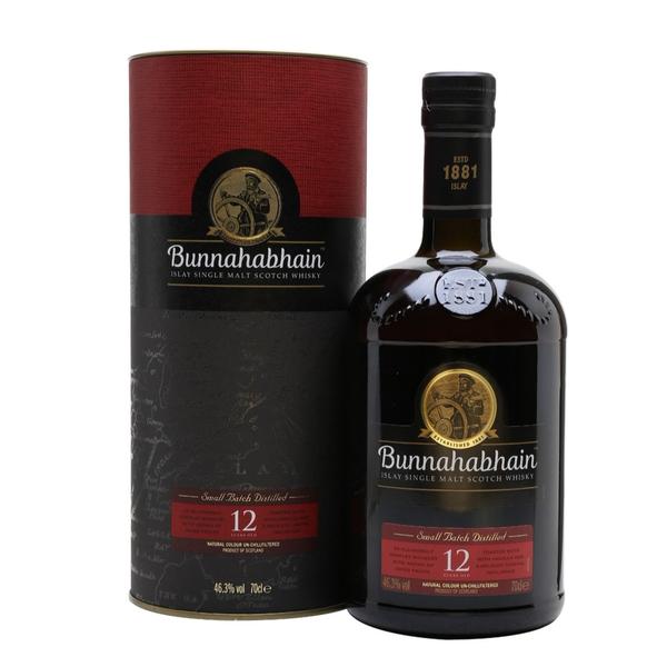 Bunnahabhain 12 Year Scotch Whiskey (750ML)