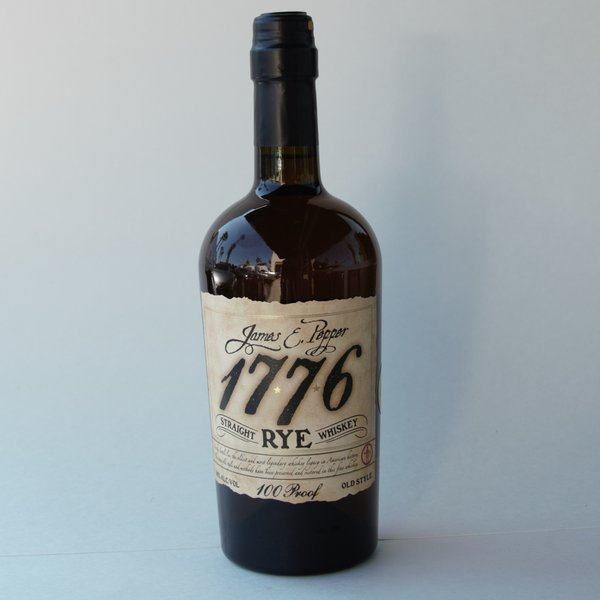 James E. Pepper 1776 Straight Rye Whisky (750ml)