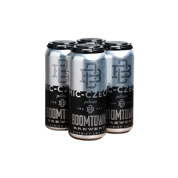 Boomtown Mic-Czech Pils (16oz)