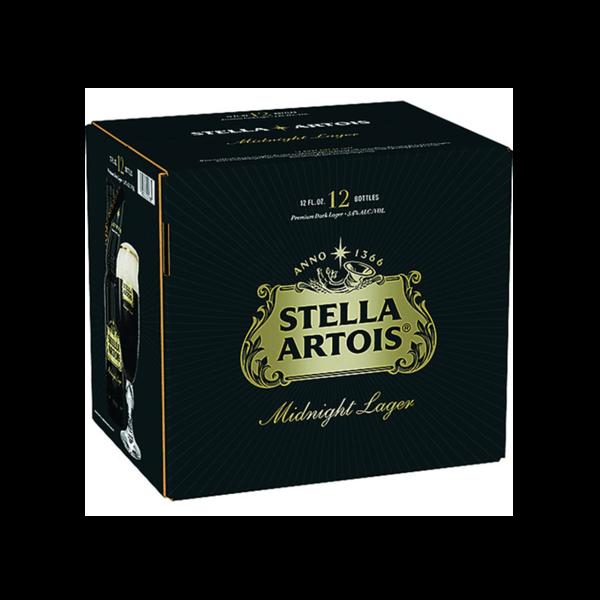 Stella Artois Stella Artois Midnight Lager (11.2 OZ/12PK BTL)
