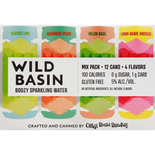 Oskar Blues Brewing Wild Basin Boozy Sparkling Water (12pk/12oz CANS)